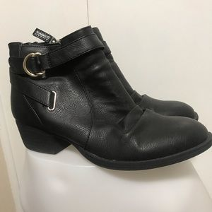 Dr.Scholl's Black Ankle Boots Size 10M